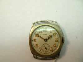 Cyma Tacy Wire Lug Case 6J Vintage Watch For Restoration or Trench Watch... - $153.84