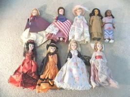 """Vintage Lot of (9) Madame Alexander 7.5"""" Dolls - $148.49"""