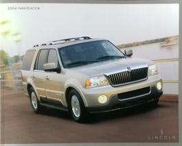 2004 Lincoln NAVIGATOR sales brochure catalog 2nd Edition US 04  - $10.00