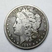 1899 MORGAN SILVER $1 DOLLAR Coin Lot# A 166 image 1