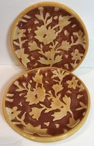 """Fitz And Floyd """"Del Vino Flowers"""" Party Or Dessert Plate - $9.89"""