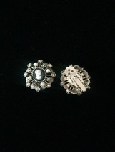 Vintage 60s Hope Chest clip on cameo earrings image 4
