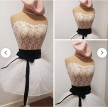 Japanese Velvet Obi bet: Classic Black - great for dress / any outfit - $23.32