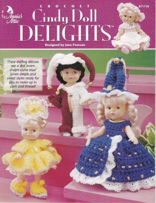Primary image for Cindy Doll Delights Crochet Indian Godmother Princess Country Girl Court Jester