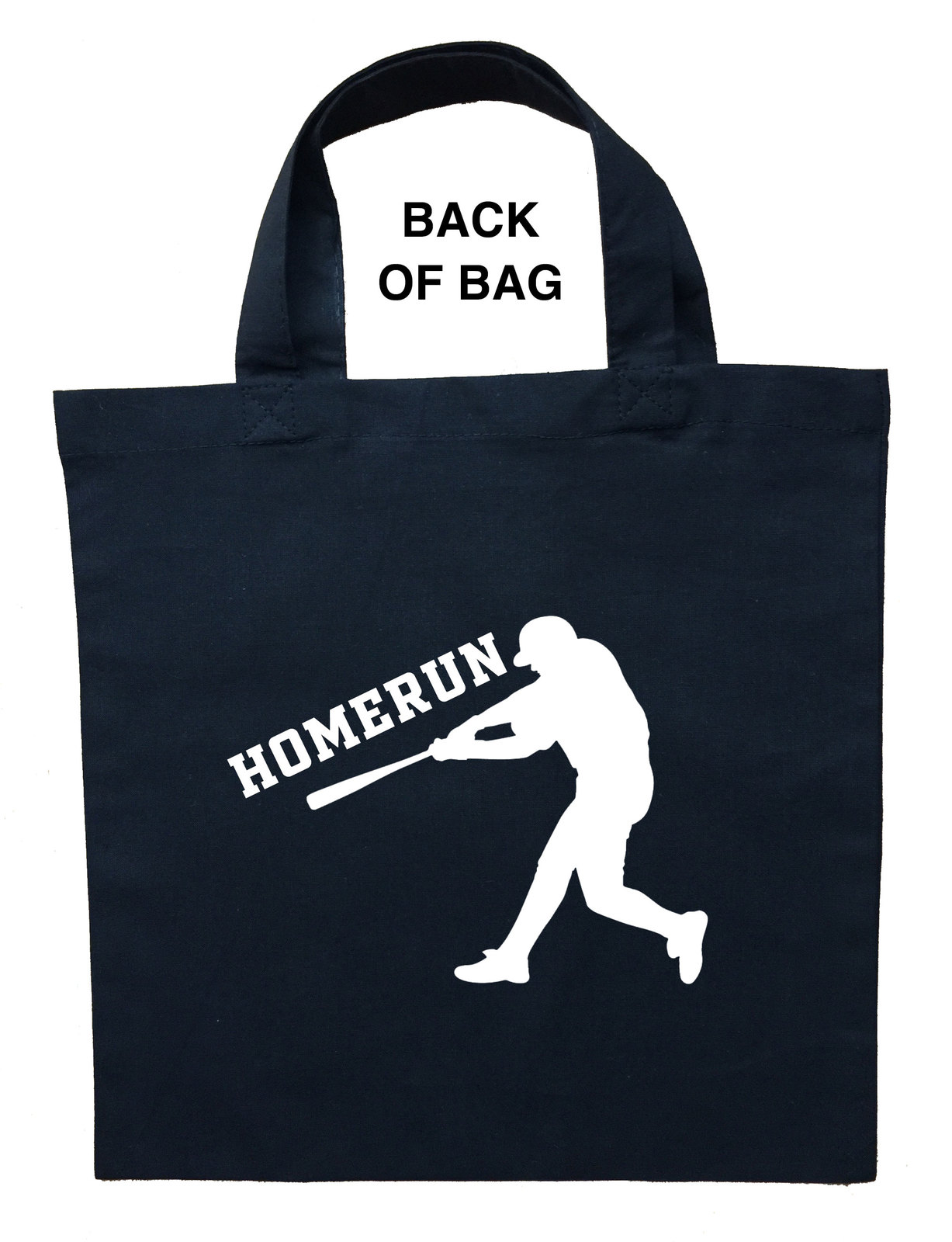 Baseball Trick or Treat Bag, Personalized Baseball Halloween Bag, Baseball Loot