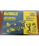 NEW DEWALT DCK489D2 20V 4 Tool Combo Kit BRUSHLESS 108493-2 EB - $316.68