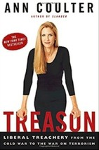 Treason: Liberal Treachery from the Cold War to the War on Terrorism Ann... - $12.95