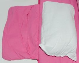 Oh Mint 002BGHP Gingham Toddler Nap Roll Color Hot Pink image 6