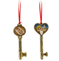 6 pack Christ Child Christmas Key Ornament Assortment (2 Asst)  - $35.59