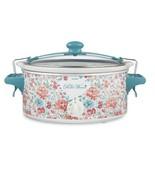 The Pioneer Woman 6-Quart Portable Slow Cooker, Gorgeous Garden - $81.71