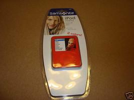 Samsonite Nano 2 color form fit skin silicone MP3 NEW red cover case - $4.94