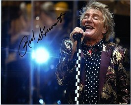 ROD STEWART  Autograph Authentic Signed  Photo w/COA - 30437 - $195.00