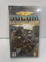 Socom: U.S. Navy Sea Ls -- Fireteam Bravo 2 (Sony Psp, 2006)MINT W/ Manual - $6.79