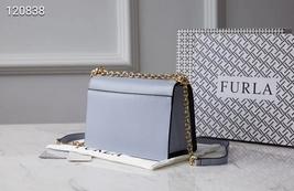 Genuine FURLA Bag MIMI mini Female Cross body Bag Light Blue - $239.00
