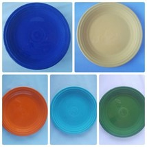 Fiestaware Genuine Fiesta Multi-Colored Set 5 Salad Small Dinner Plates ... - $51.99