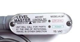 BRYANT CONTROL LM1 LEVEL MASTER 115VAC 121488 image 2