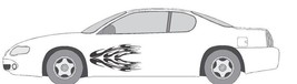 VINYL GRAPHIC #A718 SIDE DECAL AUTO SUV  VEHICLE CROSS OVER TRIBAL TRUCK... - $62.55