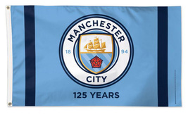 Manchester City FC - 3'X5' Polyester Flag - $43.80