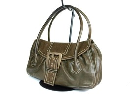 Authentic Celine Leather Dark Brown Shoulder Bag PS17375L - $169.00