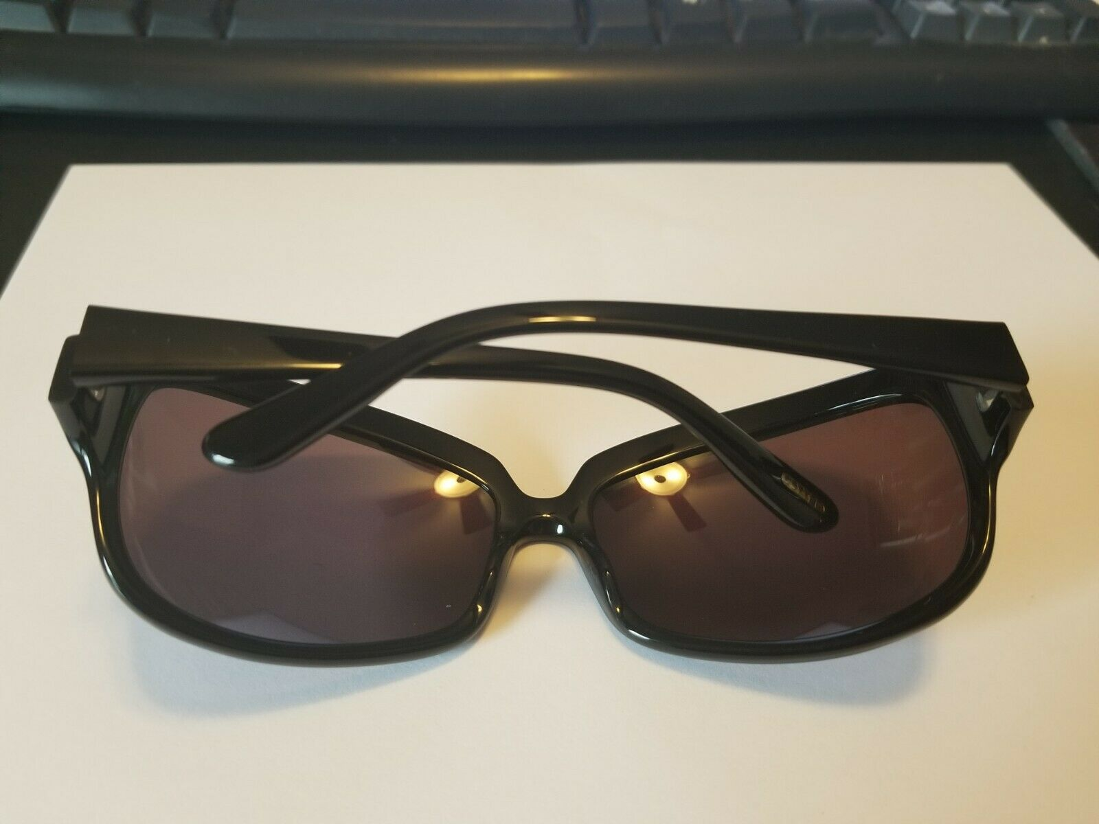 Oliver Peoples Women's Sunglasses BRAND NEW Cameo BK 66 16-115 ..PERFECT image 5