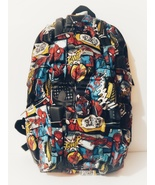 New Madpax Marvel Spiderman Blok Multi Pocket Laptop Compartment Backpack - $88.88