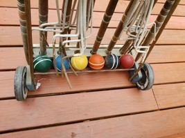 Vintage South Bend Lawn Play - JUST THE Croquet Balls - $19.80
