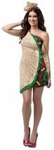 Taco Foodie Dress Costume Food Halloween Party Unique Cheap GC7627 - $54.99