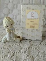 Enesco Precious Moments Porcelain Dreams Really Do Come True Figure 1994 - $12.60