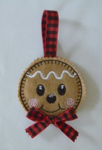 Christmas Gingerbread Boy Cookie Ornament - $3.75