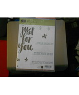 Stampin Up Wooden Stamp Set (new) BOTANICALS FOR YOU (9 stamps) - $28.17