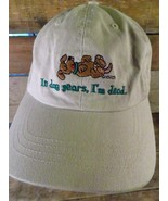In Dog Years, I'm Dead GR8 Dogs Adjustable Adult Hat Cap  - £10.16 GBP
