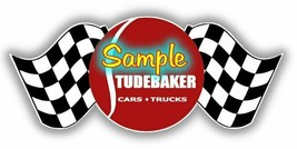 Studebaker 'A' Cars Dealer Sales Flags Contour Cut Vinyl Decals Sign Sti... - $3.50+