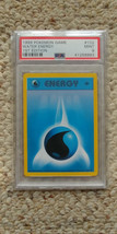 Pokemon Water Energy 102/102 1st Edition Base Set PSA 9 1999 TCG Game Shadowless - $29.99