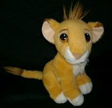 VINTAGE 1993 MATTEL DISNEY LION KING BABY SIMBA PURRS STUFFED ANIMAL PLU... - $22.21