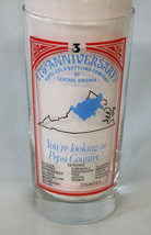 Pepsi HTF Central Virginia Glass #3 from 1983 - $19.69