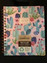 Clementine 2020 Cactus planner Agenda Calender Medium 9 X 7.5 - $26.72