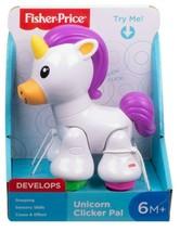 Fisher-Price Unicorn Clicker Pal Toy White 6M+ - $12.53
