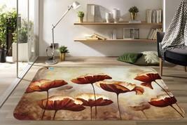 3D Gold Lotu 03 Non Slip Rug Mat Room Mat Quality Elegant Photo Carpet UK Summer - $106.68+