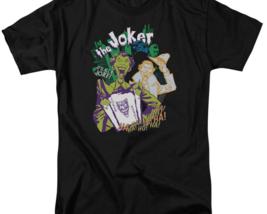 "DC Comics The Joker ""It's all a joke"" retro comics graphic t-shirt BM1547 image 3"