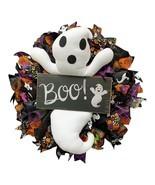 Halloween Wreath,Door Hanging Decor Halloween Ghost Wreath,Halloween Par... - $39.50