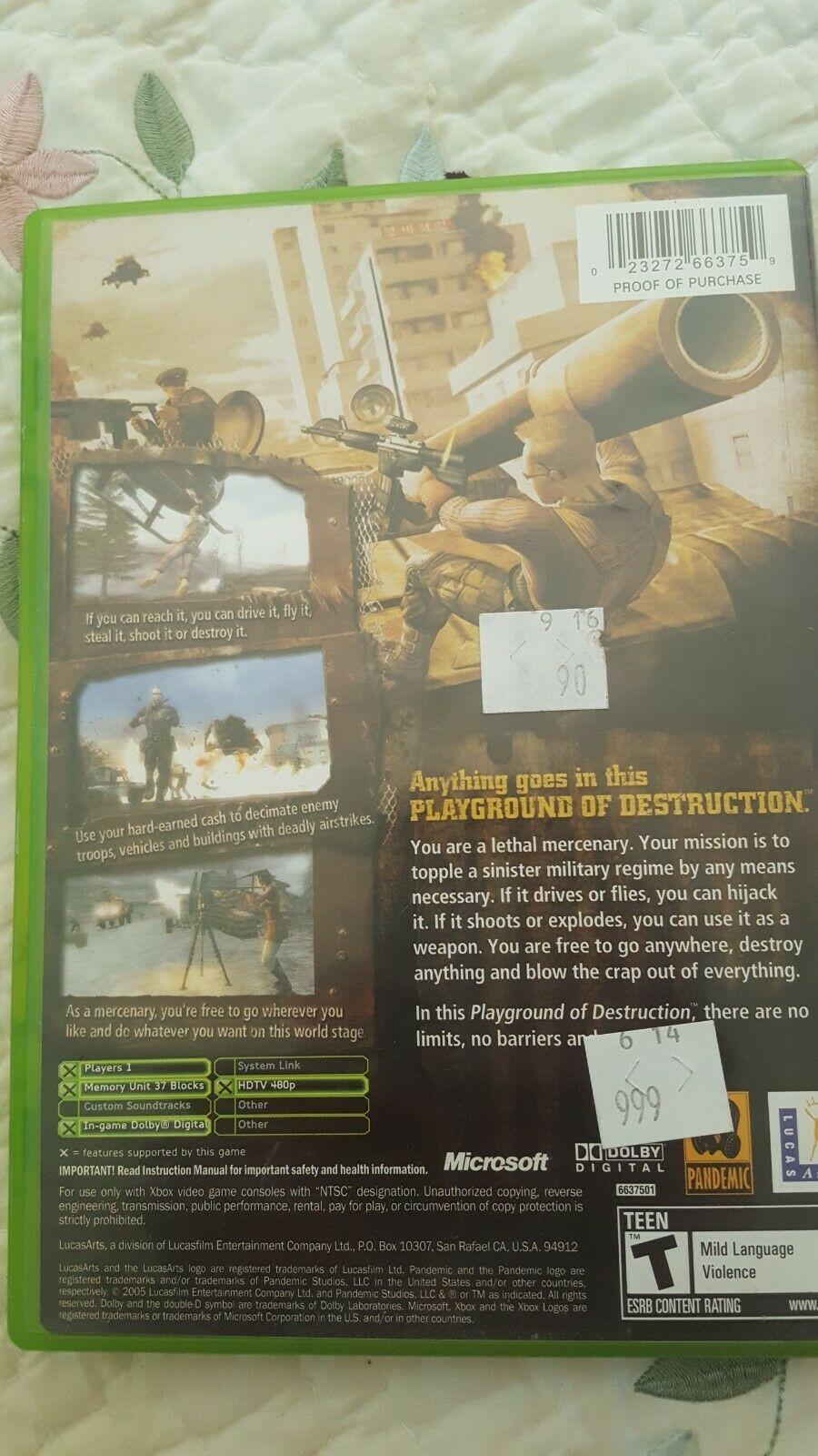 Mercenaries: Playground of Destruction (Microsoft Xbox, 2005) image 3