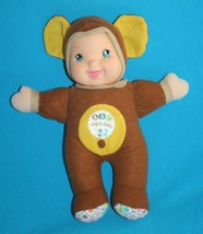"""Goldberger MONKEY DOLL 12"""" Plush Babys First Sing & Learn ABCs & 123s Soft Toy - $16.42"""
