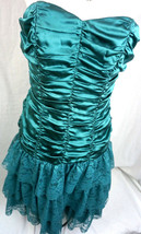 Betsey Johnson Evening Bustier Cocktail Prom Tea Tulle Dress Size 2 Smal... - $98.89