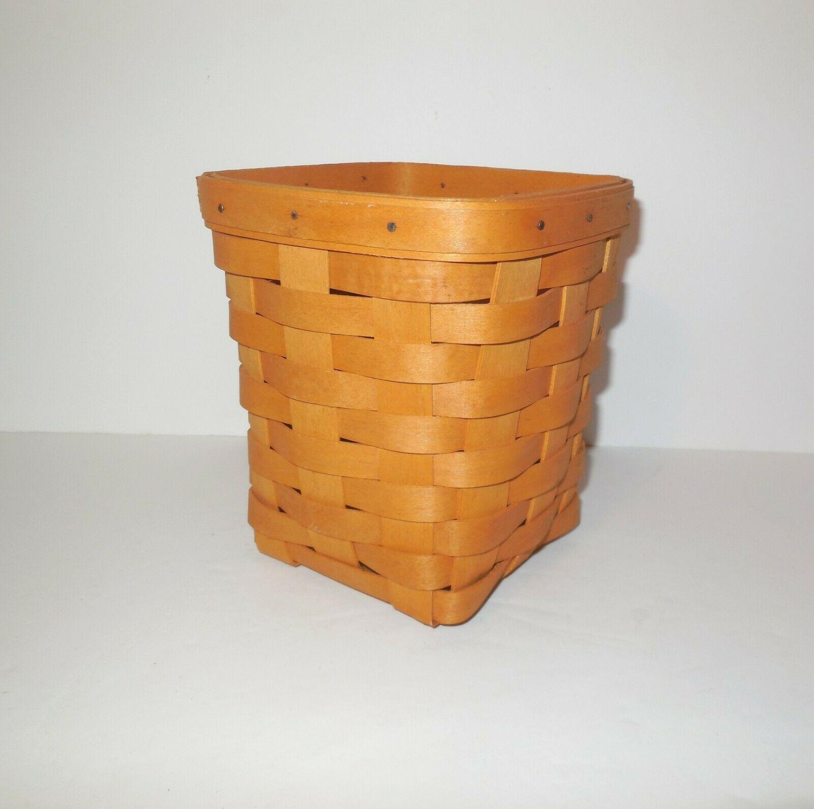 "Longaberger 6"" Spoon Basket 1999 image 3"
