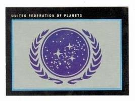 Star Trek card #293 United Federation of Planets - $3.00