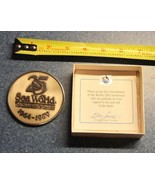 Sea World San Diego 1964-1989 25th Commemorative Medallion Coin with box... - $28.42
