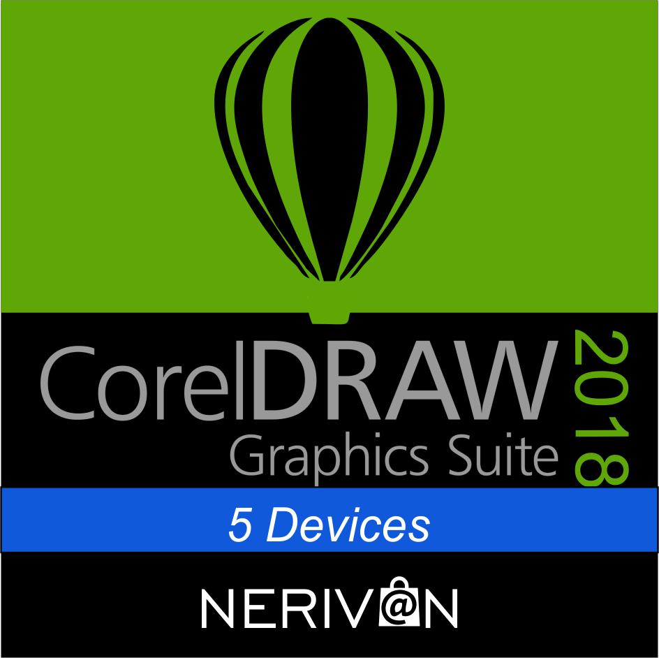 Coreldraw 2018 5 devices