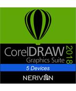 CorelDRAW Graphics Suite 2018 - Genuine Serial Number 5 Devices - $33.59