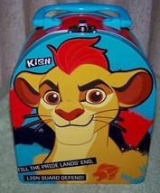 "Lion Guard KION 7.5""H Tin Tote New - $6.50"