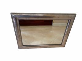 "Framed Silver Wall Mirror 23"" x 30"" Original Price $199 Rectangular Rectangle image 11"
